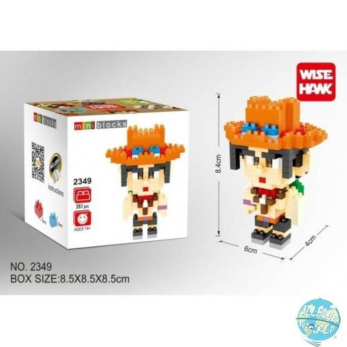 One Piece - Ace - Mini Blocks No.2349: Wise Hawk
