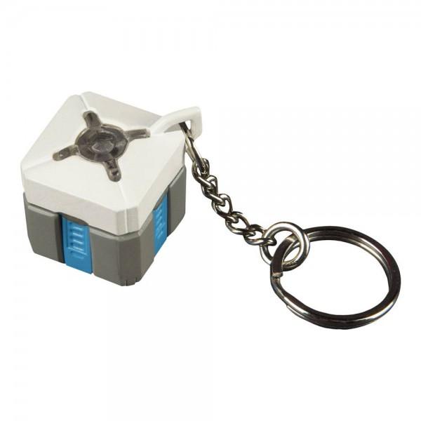 Overwatch - 3D Schlüsselanhänger mit Leuchtfunktion / Lootbox: J!NX