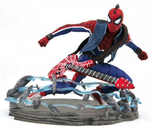 Spider-Man 2018 Statue / Marvel Video Game Gallery - Spider-Punk Exclusive: Diamond Select