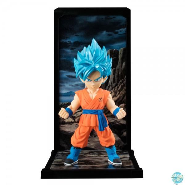 Dragonball Super - SSGSS Son Goku Figur - Tamashii Buddies: Bandai