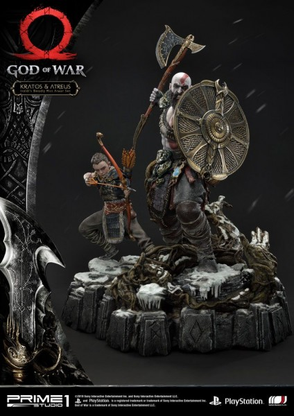 God of War - Kratos & Atreus Statue / Deluxe Version: Prime 1 Studio