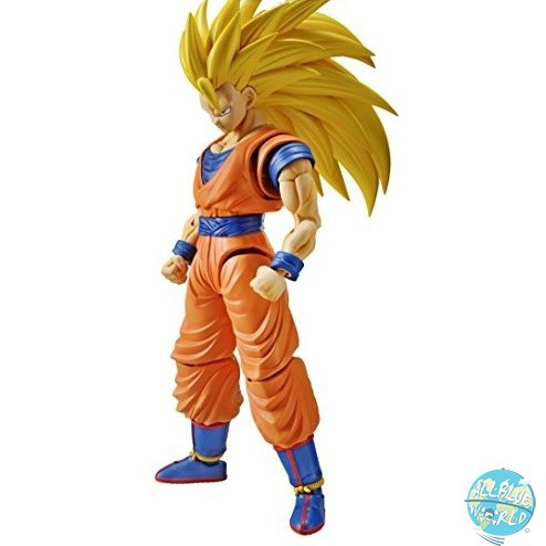 Dragonball Z - Super Saiyan 3 Son Goku Model Kit - Figure-rise Standard Plastic Model Kit: Bandai