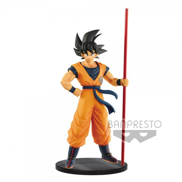 Dragon Ball Super - Son Goku Figur / The 20th Film Limited: Banpresto