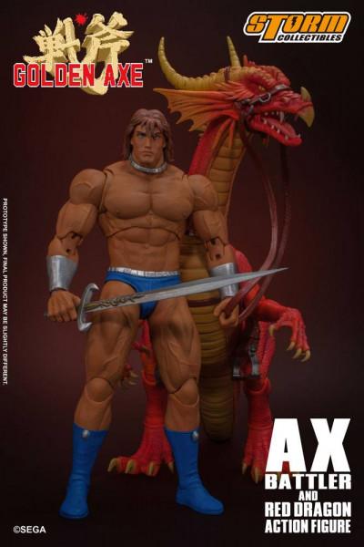 Golden Axe - Ax Battler & Red Dragon Actionfigu: Storm Collectibles