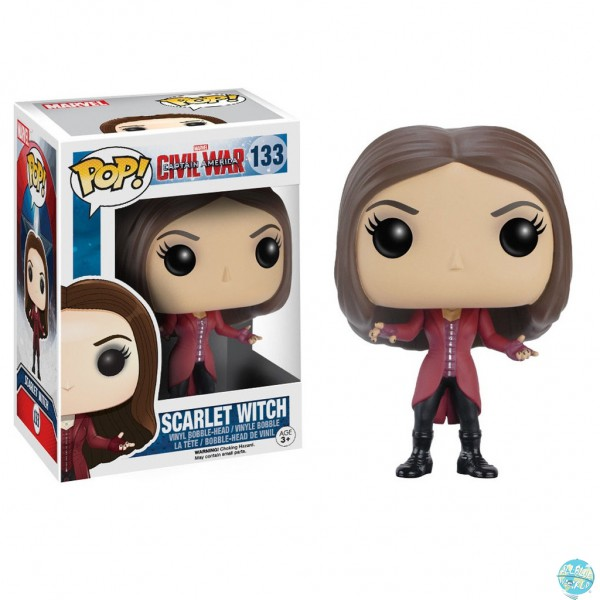 Captain America Civil War - Scarlet Witch Figur - POP!: Funko