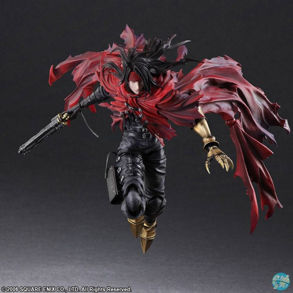 Final Fantasy VII - Dirge of Cerberus - Vincent Valentine Actionfigur - Play Arts Kai: Square Enix