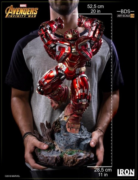 Avengers Infinity War - Hulkbuster [BESCHÄDIGTE VERPACKUNG]: Iron Studios