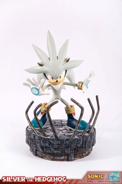 Sonic the Hedgehog - Silver the Hedgehog Statue: First 4 Figures
