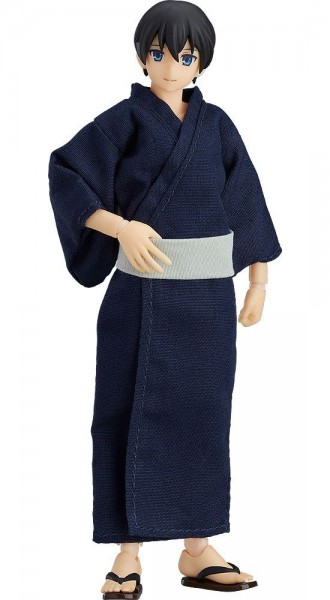Original Character - Male Body Ryo with Yukata Outfit Figma: Max Factory