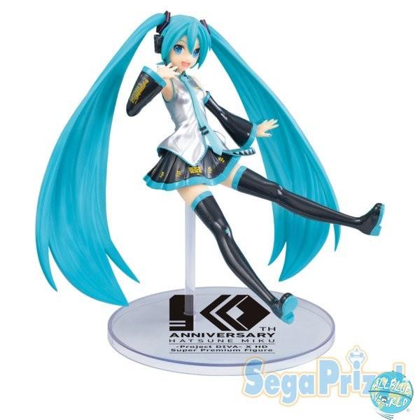 Vocaloid Project Diva X HD - Hatsune Miku Figur - SPM / 10th Anniversary: Sega