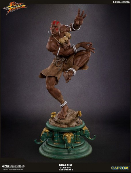 Street Fighter V Ultra - Dhalsim Statue / Classic Exclusive: Pop Culture Shock