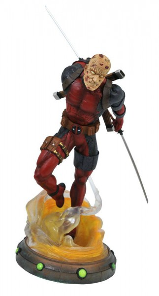 Marvel - Unmasked Deadpool Statue / Marvel Gallery: Diamond Select