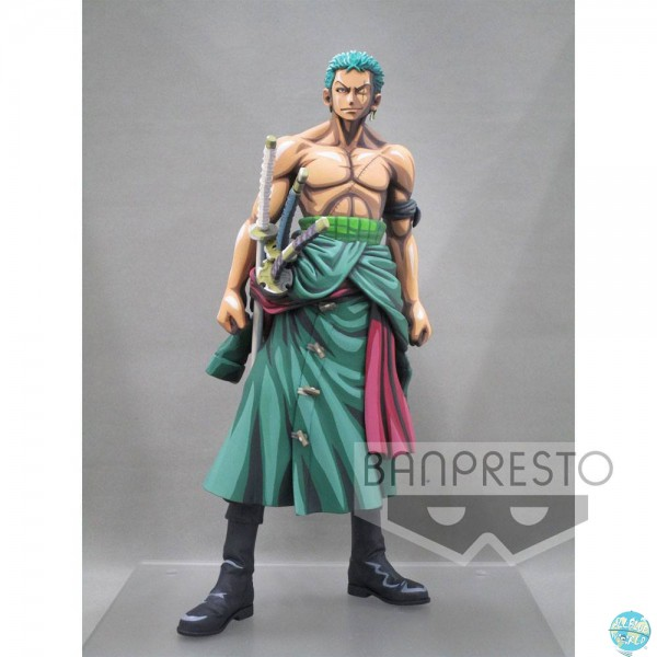 One Piece - Lorenor Zorro Figur - Master Stars Piece / Manga Dimension: Banpresto