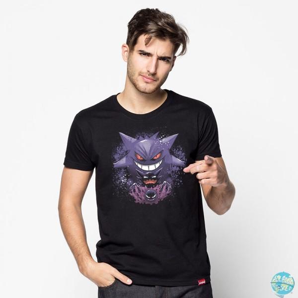 Gengar Evolution - Motivshirt / Unisex: Pampling