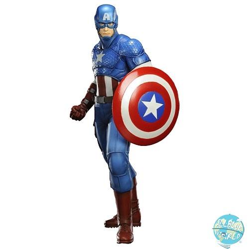 Marvel Comics - Captain America Statue - ARTFX+ (Avengers Now): Kotobukiya