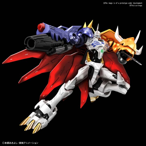 Digimon - Omegamon Model-Kit / Figure-rise Standard Amplified: Bandai Spirits