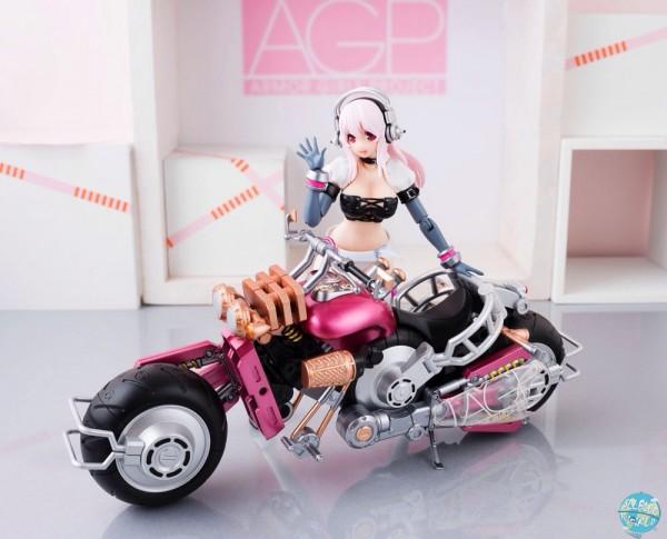 Nitro Super Sonic - Super Sonico with Super Bike Robo - Armor Girls Project: Bandai