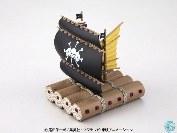 One Piece - Marshall D. Teach's Ship Modell-Kit - Grand Ship Collection: Bandai