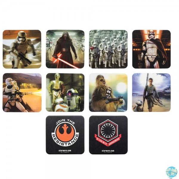 Star Wars Episode VII - Untersetzer 3D: Paladone