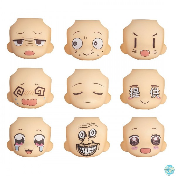 Nendoroid More - Nendoroid Zubehör - Face Swap 02: Good Smile Company