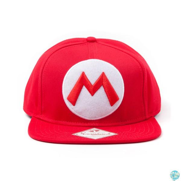 Nintendo - Mario Hip Hop Cap M - Snap Back: Bioworld