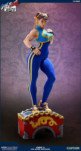 Street Fighter Alpha - Chun Li Statue / Alpha Exclusive: Pop Culture Shock