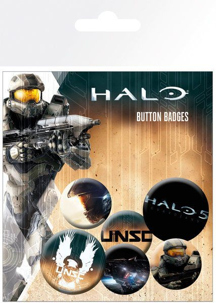 Halo 5 - Ansteck-Buttons 6er-Pack Mix: Gye