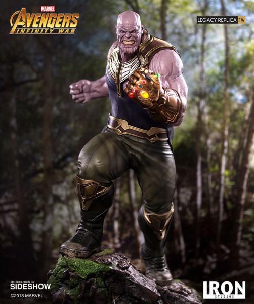 Avengers Infinity War - Thanos Statue / Legacy Replica: Iro Studios
