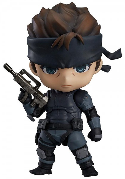 Metal Gear Solid - Solid Snake Nendoroid: Good Smile Company