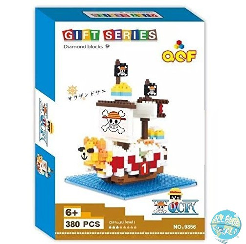 One Piece - Thousand Sunny - Diamond Blocks No.9856 / Gift Series: QCF