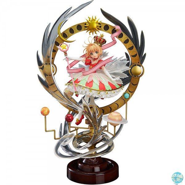 Card Captor Sakura - Sakura Kinomoto Statue - Stars Bless You Version: Good Smile Company