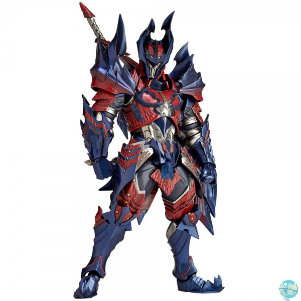 Monster Hunter X - Hunter Swordsman Glavenus Actionfigur / Vulcanlog: Union Creative