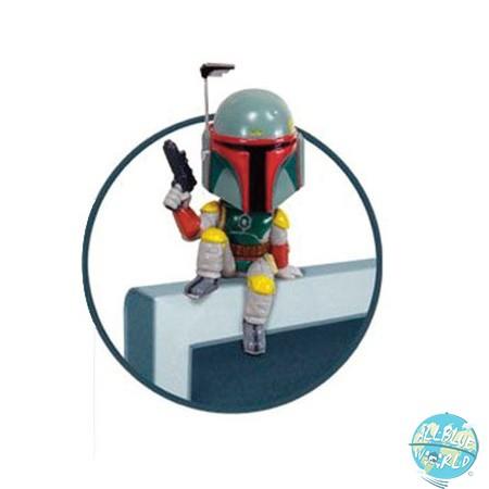 Star Wars Boba Fett Wackelkopf Figur - Sitter Computer: Funko