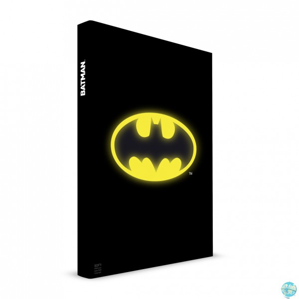 Batman SD Toys Notizbuch mit Logo-Leuchtfunktion