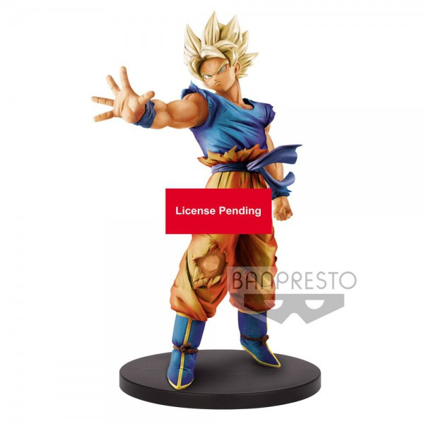 Dragon Ball - SSJ Son Goku Figur / Blood of Saiyans 2: Banpresto