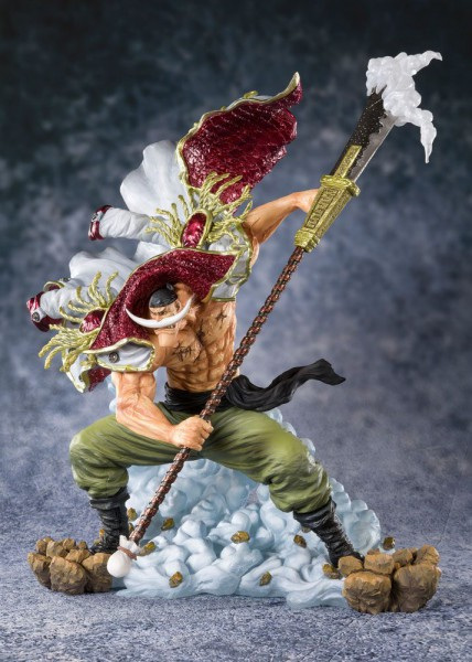 One Piece - Edward Newgate Figur / FiguartsZERO - Pirate Captain: Tamashii Nations
