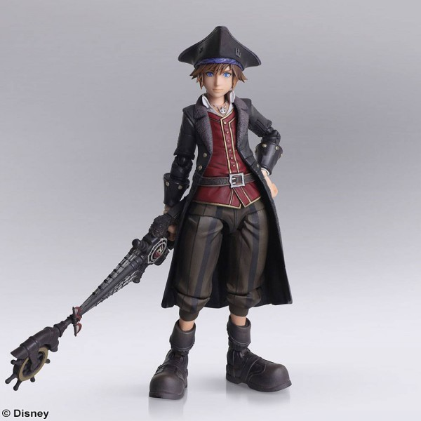 Kingdom Hearts II - Sora Actionfigur / Bring Arts - Pirates of the Caribbean Version: Square Enix