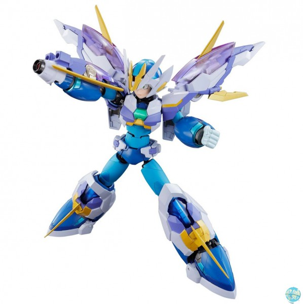 Megaman X - Mega Man X Giga Armon X Actionfigur / Chogokin Diecast: Bandai