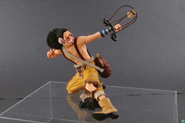 One Piece - Lysop Figur - King Of Artist: Banpresto