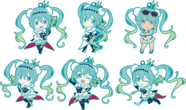 Hatsune Miku GT Project - Gummi-Anhänger / Nendoroid Plus: Good Smile Racing