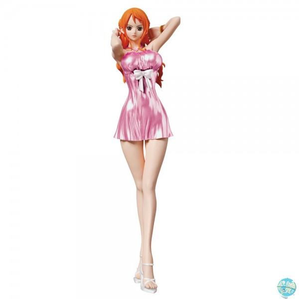 One Piece - Nami Figur - Glitter & Glamours / Pink: Banpresto