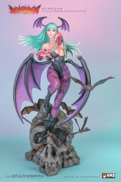 Darkstalkers - Morrigan Statue / Player 01 Edition: H.M.O. Collectibles-Copy