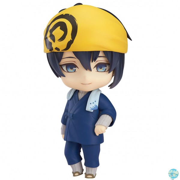 Touken Ranbu -ONLINE- - Mikazuki Munechika Uchiban Co-de Minifigur - Nendoroid: Orange Rouge
