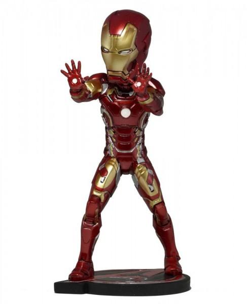 Avengers AOU - Iron Man Wackelkopf-Figur - Head Knocker: NECA
