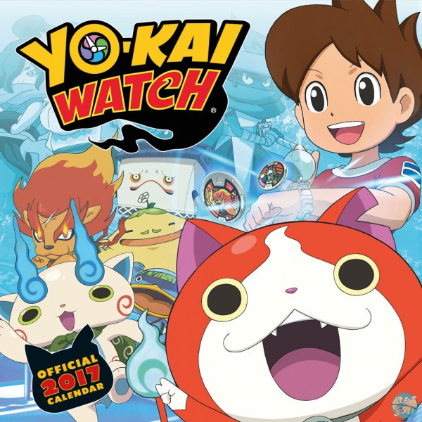 Yo-kai Watch - Kalender 2017 *Englische Version*: Danilo