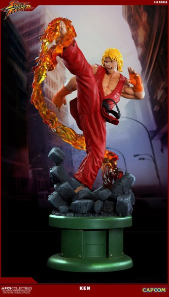 Street Fighter IV - Ken Statue: Pop Culture Schock