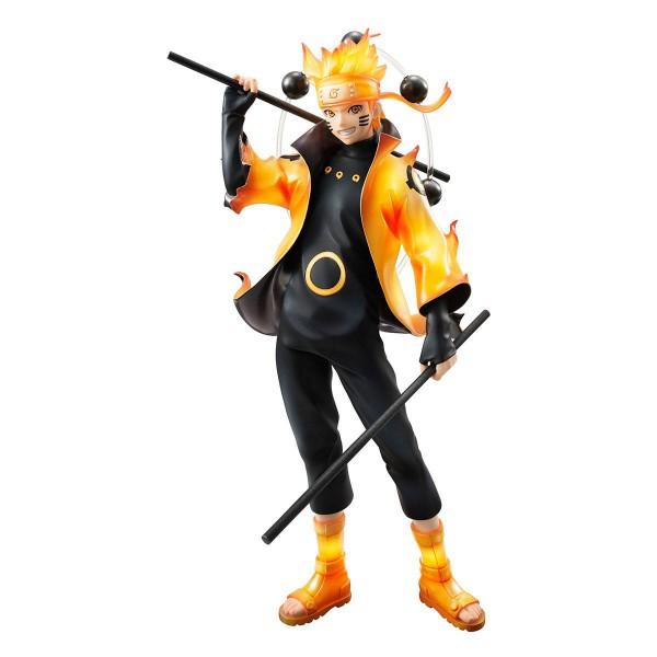 Naruto Shippuden - Uzumaki Naruto Statue - G.E.M. - Serie / Rikudo Sennin Version: MegaHouse