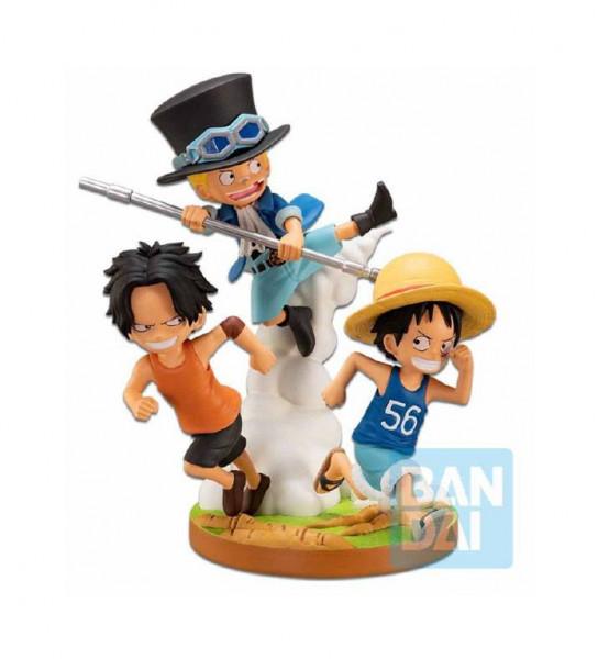 One Piece - The Bonds of Brothers Diorama: Bandai Ichibansho