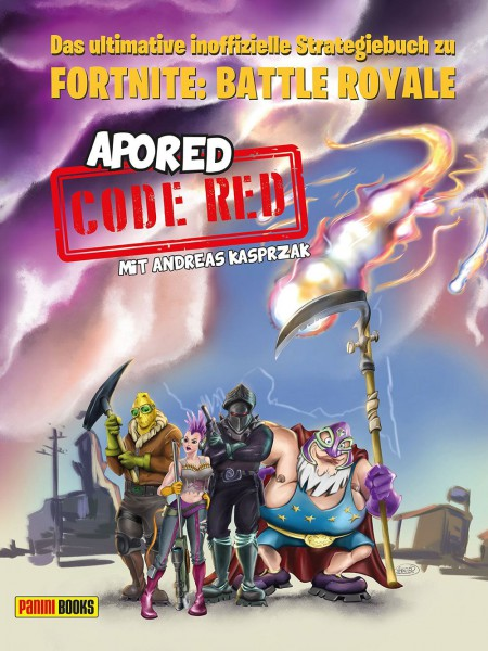 Fortnite: Battle Royale Strategiebuch / CODE RED: Panini