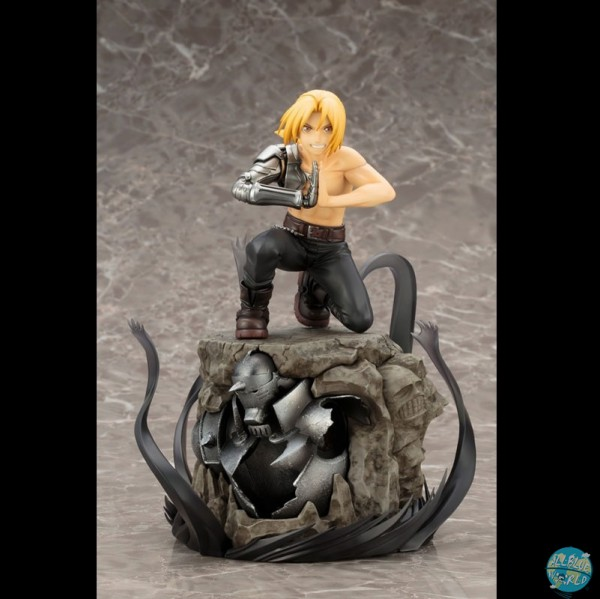 Fullmetal Alchemist - Edward Elric Statue - ARTFX J / DX Version: Kotobukiya